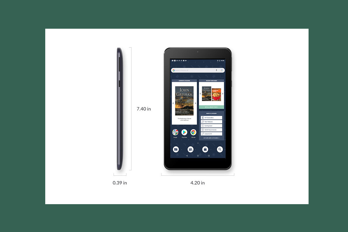 Barnes & Noble Releases New 7″ Nook Tablet