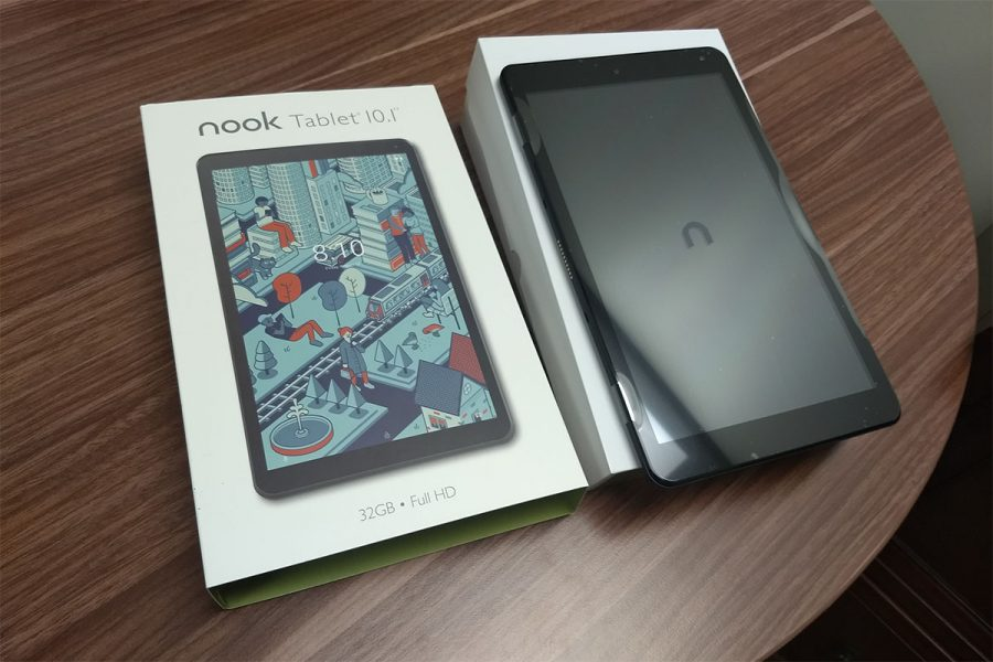 unboxxing barnes and nble nook 10 1 tablet